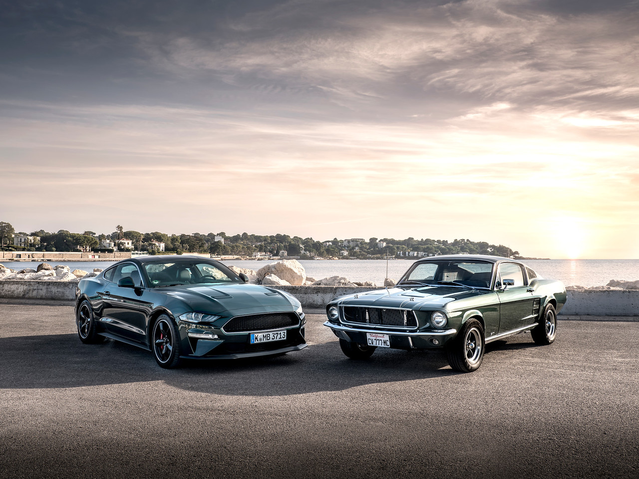 Ford - Mustang Bullitt press launch