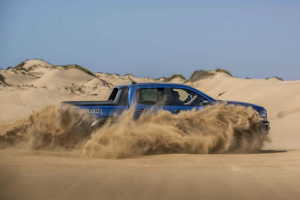 Ford - Ranger Raptor press launch